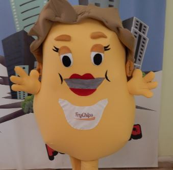 Mascotte patata chips :Realizzazione mascotte […]